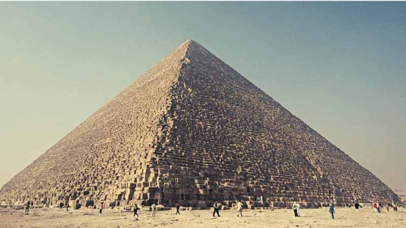 7 Best Of The Great Pyramid of Giza Facts